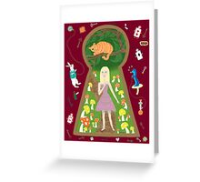 Alice (Fairy Tale Fashion Series #4) Greeting Card