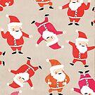 Dancing Santas by The Eighty-Sixth Floor
