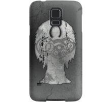 Weeping Angel Design with Circular Gallifreyan Samsung Galaxy Case/Skin