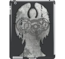 Weeping Angel Design with Circular Gallifreyan iPad Case/Skin