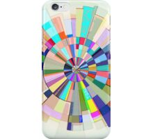 Abstract Color Wheel iPhone Case/Skin