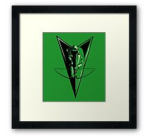 Emerald Archer Framed Print