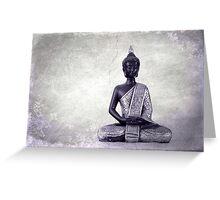 Buddha - JUSTART © Greeting Card