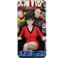SheVibe Presents Sex Ed: The Next Generation - Sex Geekdom's Kate McCombs Cover Art iPhone Case/Skin