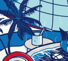 Blue Pokehouse Sticker