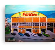 Myrtle Beach Pavilion - Circa 1948-50. Canvas Print