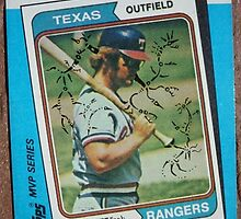 166 - Jeff Burroughs by Foob's Baseball Cards