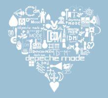 Depeche Mode : I Love DM - White Kids Clothes