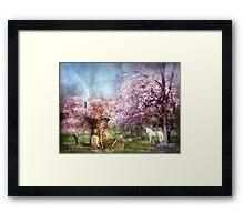 Once Upon A Springtime Framed Print