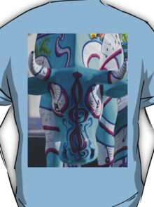Painted Cow by Cathedral Youth, Ebrington Square Derry T-Shirt