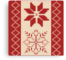 Christmas Sweater  Canvas Print