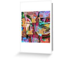 1073 Abstract Thought Greeting Card