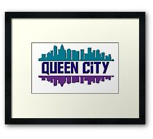 Queen City, NC Framed Print