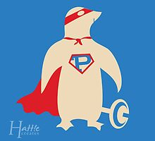 Super Penguin!!! by hattiecreates