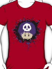 Abstract Super Mario Poison (purple) Mushroom T-Shirt