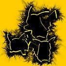 Electrifying Pikachu by scribbleworx