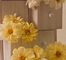 Drawers Of Dahlias  by Sandra Foster