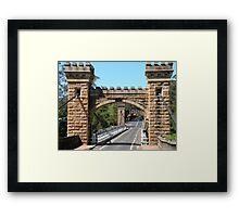 Hampden Bridge Framed Print