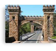 Hampden Bridge Canvas Print