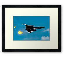 Lockheed SR-71A 64-17960 head banger Framed Print