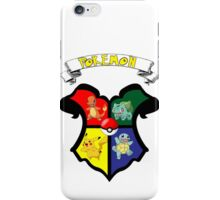 Pokemon Crest / Harry Potter iPhone Case/Skin