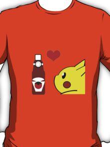 Pikachu and his Ketchup <3 T-Shirt