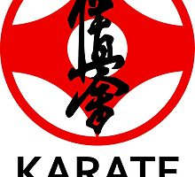 Kyokushin Karate Kanji and Symbol  by DCornel