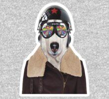 best dog work like aviator Kids Clothes