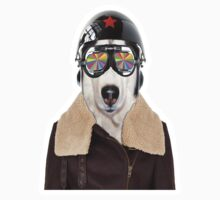 best dog work like aviator Kids Clothes