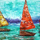 Sailboat Dreams by Laura Barbosa