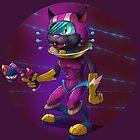 Intergalactic Kitten by skarmanami