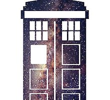 TARDIS Through The Galaxy by The-fangirl