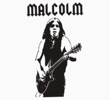 Malcolm Young T-Shirt by popculture