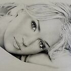 Carrie Underwood in Pencil by Karen E. Marvel