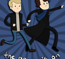 Sherlock: The Game Is On  by TheIndoorCat