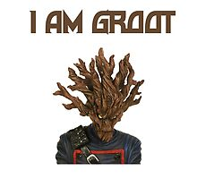 I Am Groot English by zacharyskaplan
