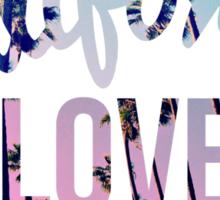 California Love Sticker