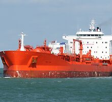 Big Red Tanker by Bradford Martin
