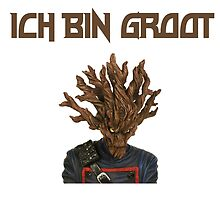 I Am Groot German by zacharyskaplan