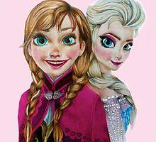 Sisters - Pink by weronikart