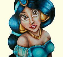 Jasmine - Yellow by weronikart