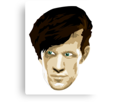Doctor Who #11 Matt Smith Canvas Print