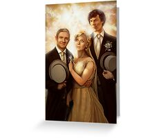 The Vow Greeting Card