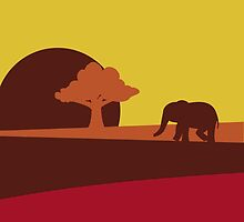 African sunset by BGWdesigns