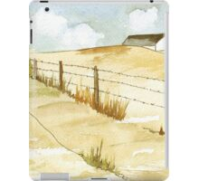 Waiting for the rain iPad Case/Skin
