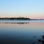 Sunrise on the Lake by hummingbirds
