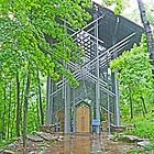 Thorncrown Chapel, Eureka Springs by Graeme  Hyde