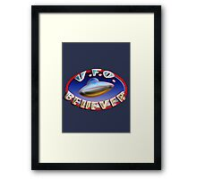 UFO Believer Framed Print