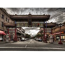 China town Victoria Photographic Print