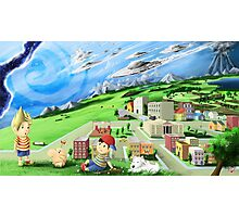 earthbound mother Photographic Print